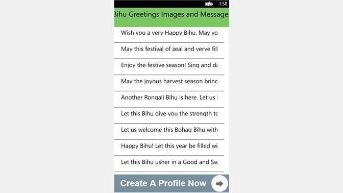 Get bihu greetings images and messages microsoft store sw ke screenshot m4hsunfo