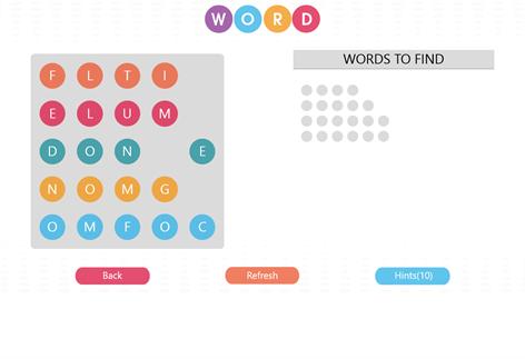 WordBubbles!-Addicting Word Game Screenshots 1