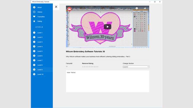 Buy Wilcom Embroidery Tutorials Microsoft Store