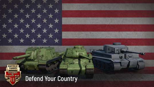 Battle Tanks: Legends of World War II 3D Tank Games screenshot 2