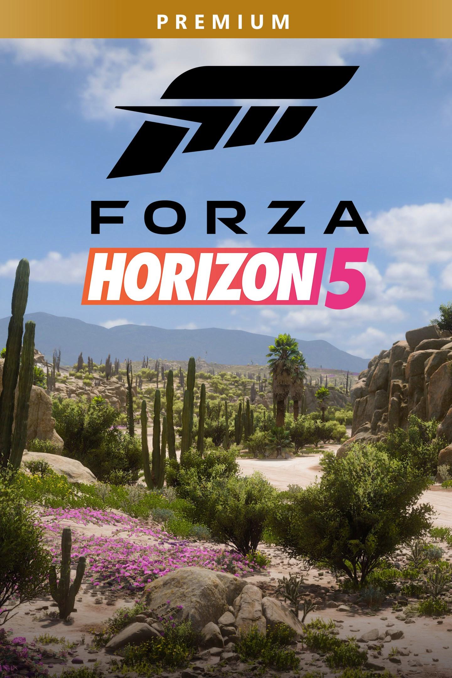 Forza Horizon 5 Premium Edition box shot