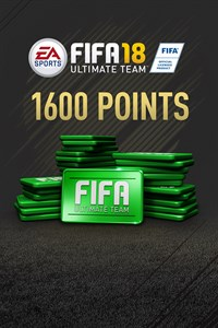 1600 FIFA 18 Points Pack