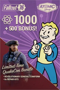 Fallout 76: QuakeCon Atom Bundle