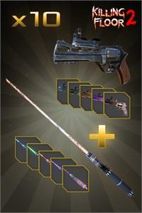 Carátula para el juego Grim Treatments Weapon Bundle de Xbox 360