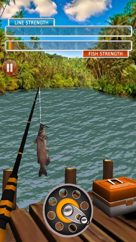 Get real fishing ace pro wild trophy catch 3d microsoft for Fishing game app