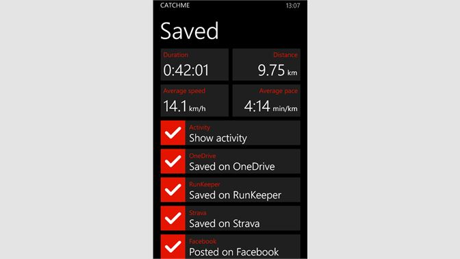 Get Catchme Sports Tracker - Microsoft Store