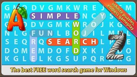 Simple Word Search Screenshots 1