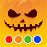 Coloring Book - Halloween - funny painting book for boys and girls, adults and kids