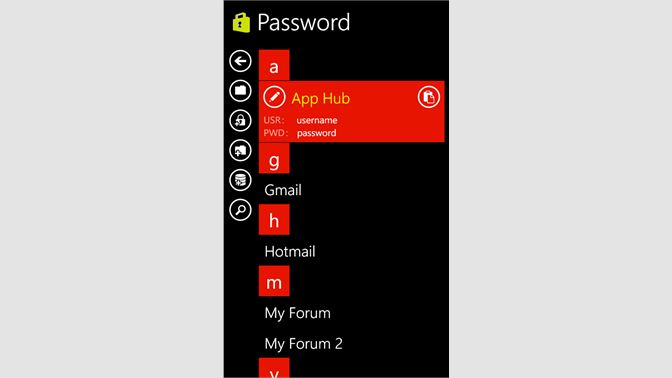 Get Password Manager - Microsoft Store