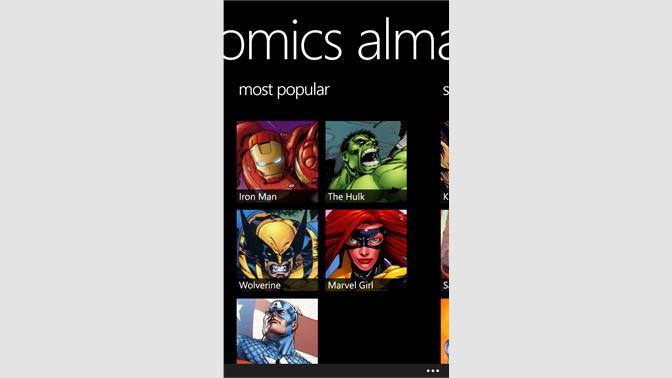 Get Marvel Comics Almanac - Microsoft Store