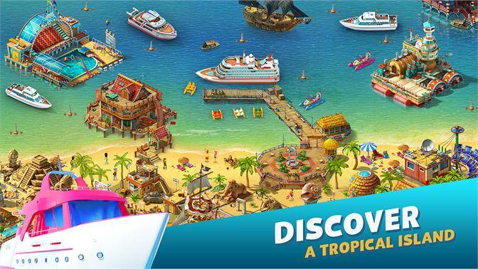 Paradies Insel Dating-Show Eiskarienbild