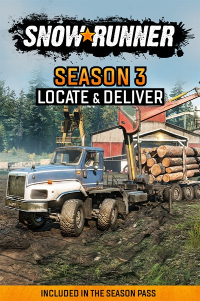 SnowRunner - Season 3: Locate & Deliver