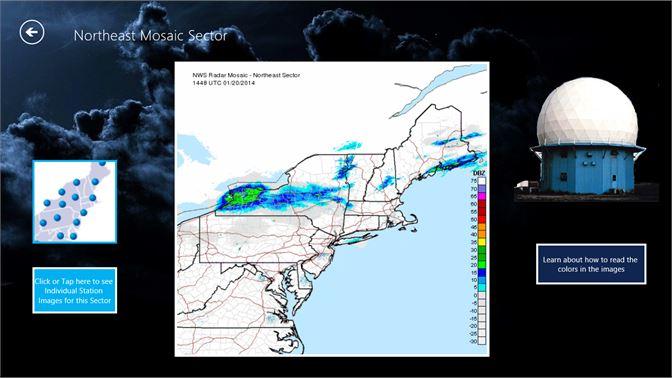 Get NOAA Doppler Radar Mosaic Imagery - Microsoft Store