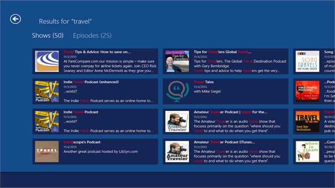 Get The Podcast Source - Microsoft Store
