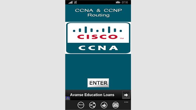Get CCNA CCNP Rounting - Microsoft Store