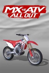 Carátula del juego 2017 Honda CRF 450R