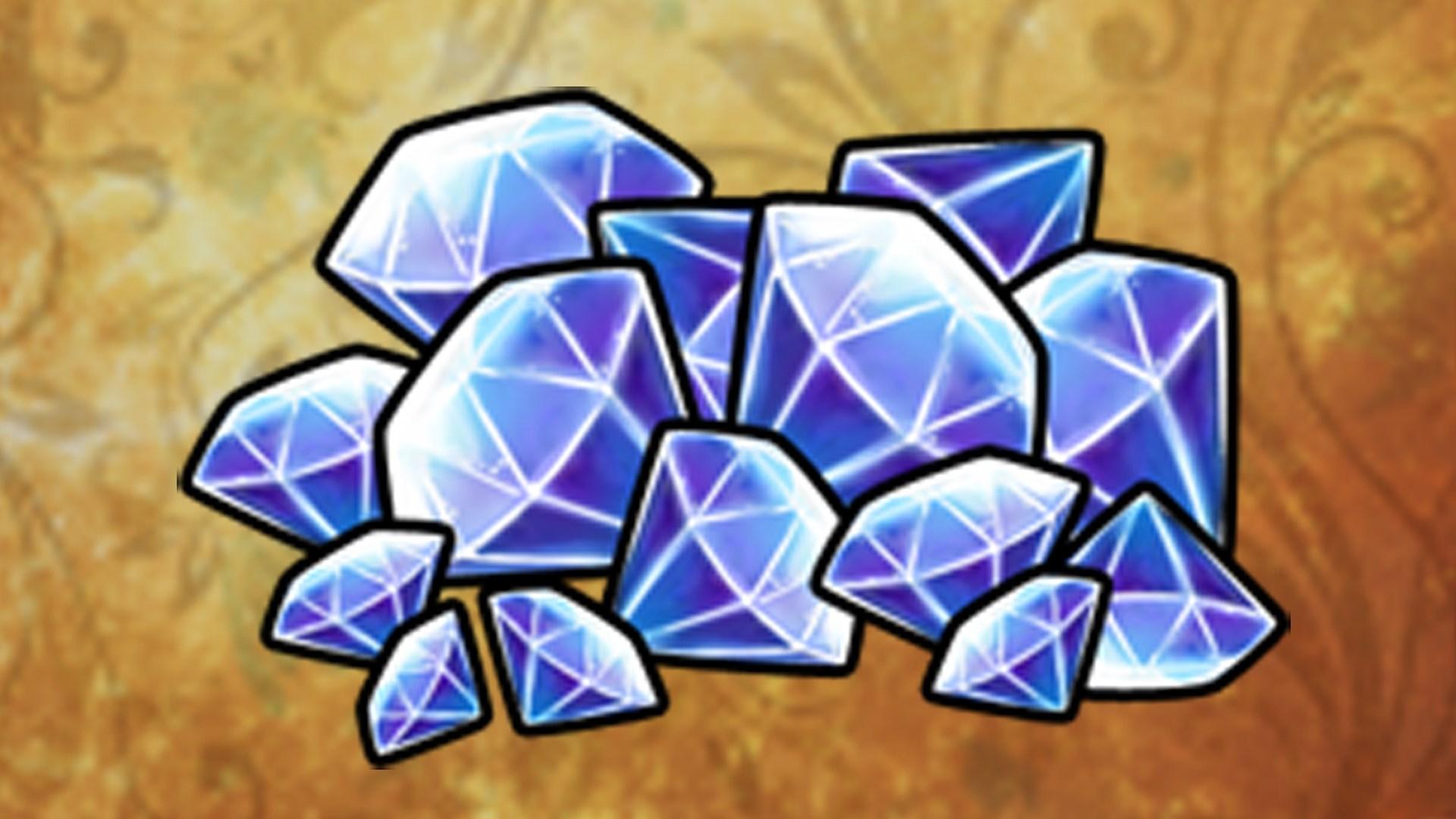Stack of Gems