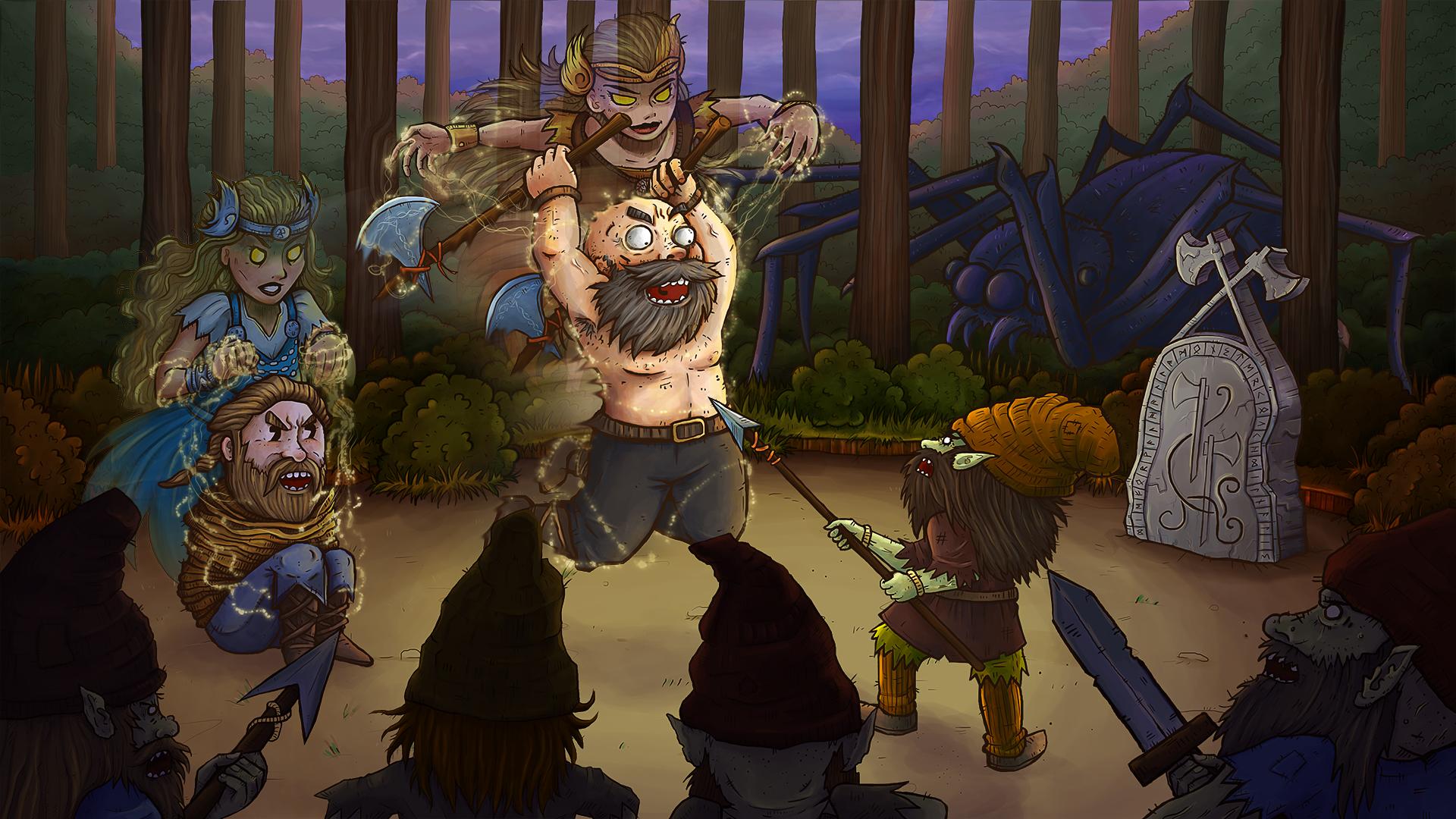 Скриншот №5 к Die for Valhalla!