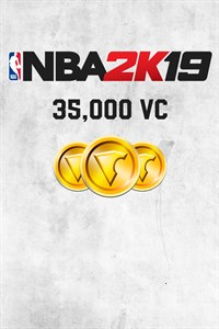 Carátula del juego NBA 2K19 35,000 VC