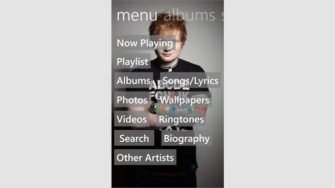 Get Ed Sheeran Music - Microsoft Store