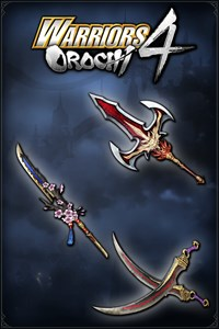 Carátula del juego WARRIORS OROCHI 4: Legendary Weapons Samurai Warriors Pack 4