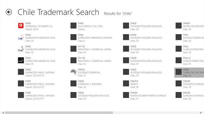 Buy Chile Trademark Search - Microsoft Store