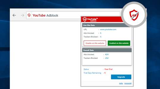 YouTube™ AdBlock screenshot 3