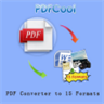 PDF Converter to 15 Formats - PDFCool