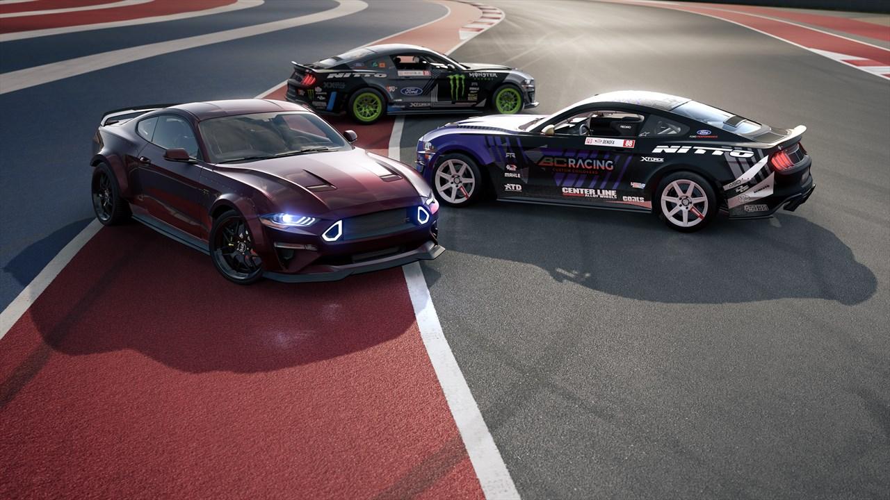 Forza motorsport 7 mustang rtr spotlight car pack