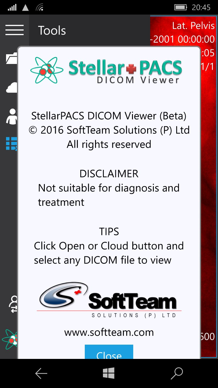StellarPACS DICOM Viewer