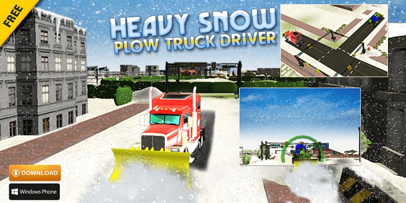 Get Heavy Snow Plow Truck Driver 3D - Rescue Operation - Microsoft