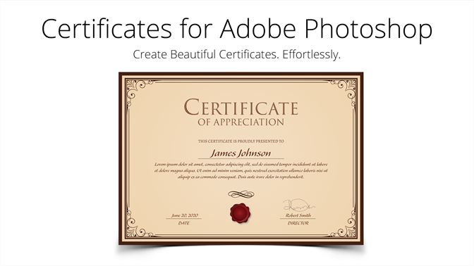 certificate templates for adobe photoshop を購入 microsoft store ja jp