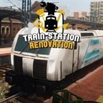 Train Station Renovation Logo