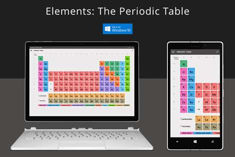 Get elements the periodic table microsoft store screenshot urtaz Choice Image