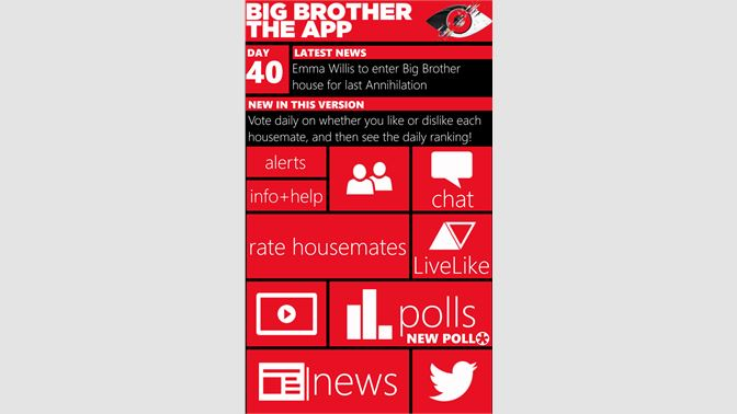 Big brother dating app