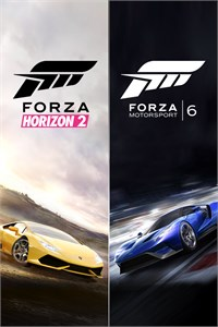 Carátula del juego Forza Motorsport 6 and Forza Horizon 2 Bundle