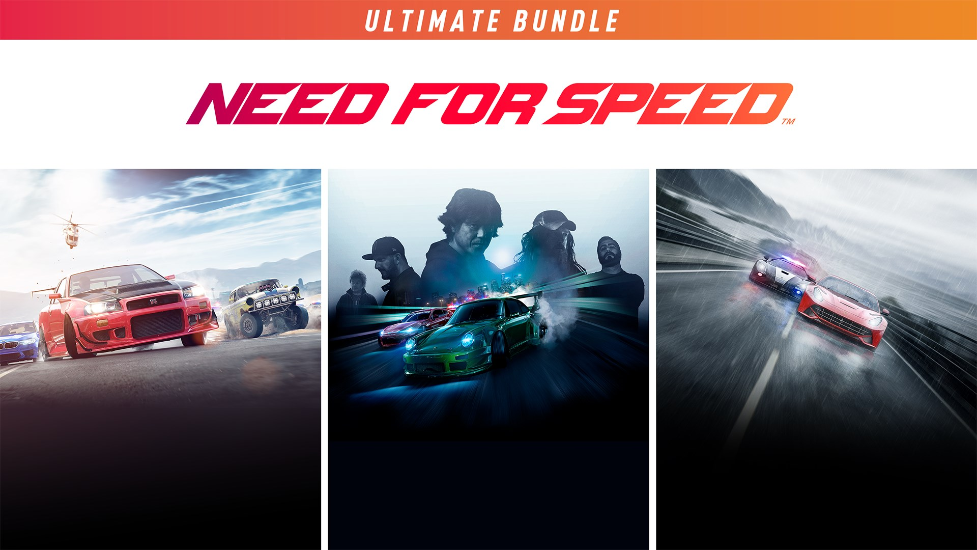Need for Speed Conjunto Ultimate