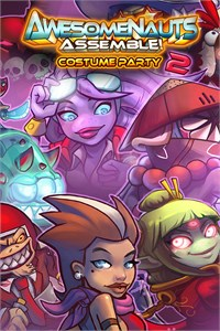 Carátula del juego Costume Party 2 - Awesomenauts Assemble!