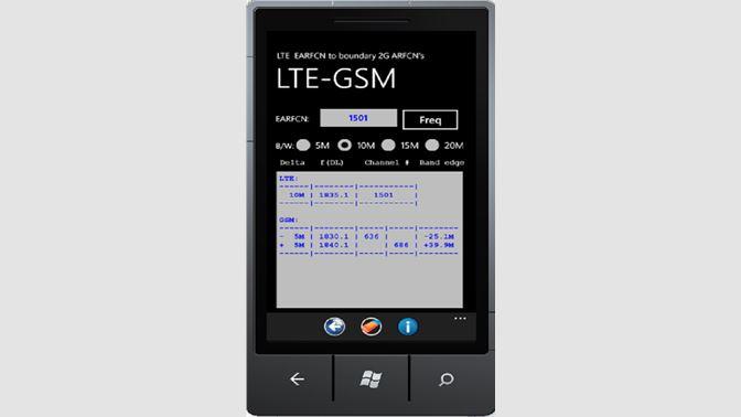 Get ARFCN Calculator - Microsoft Store