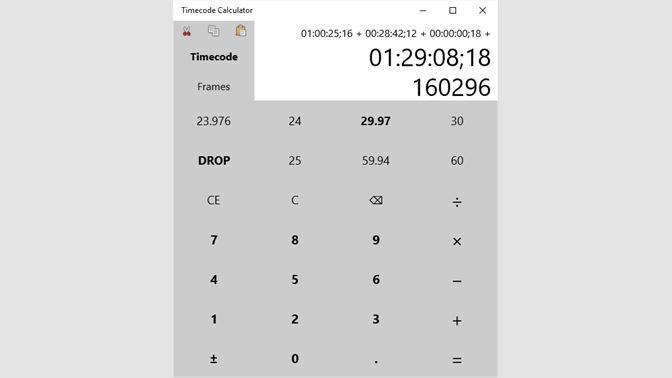 Buy Timecode Calculator - Microsoft Store en-CA