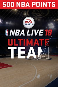 EA SPORTS™ NBA LIVE 18 ULTIMATE TEAM™ - 500 PONTOS DA NBA