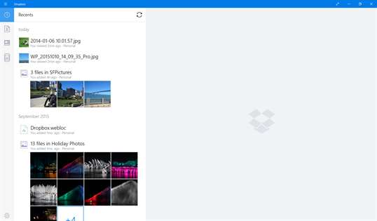 Dropbox screenshot 2