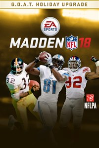 MADDEN NFL 18: G.O.A.T. Holiday Upgrade