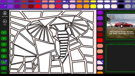 Screenshot The Elephant Ready To Be Colored