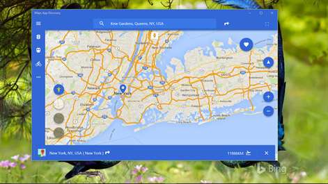 Get maps app discovery microsoft store screenshot native uwp app for maps publicscrutiny Choice Image
