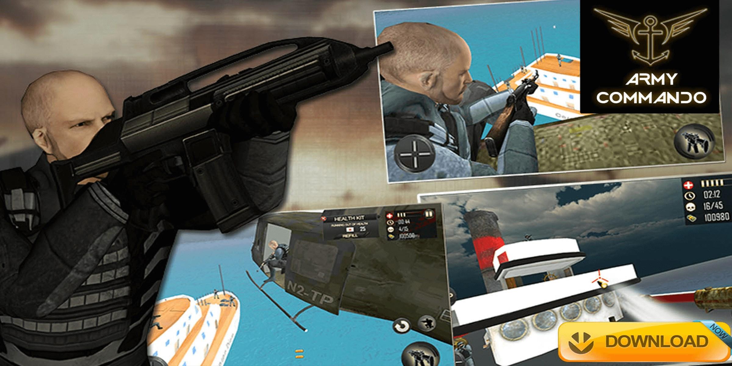 Get Combat Shooter 3D - Army Commando Kill Terrorists - Microsoft Store