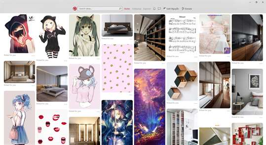 Piny - Pinterest with love screenshot 1