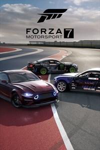 Paquete de coches destacados Forza Motorsport 7 Mustang RTR