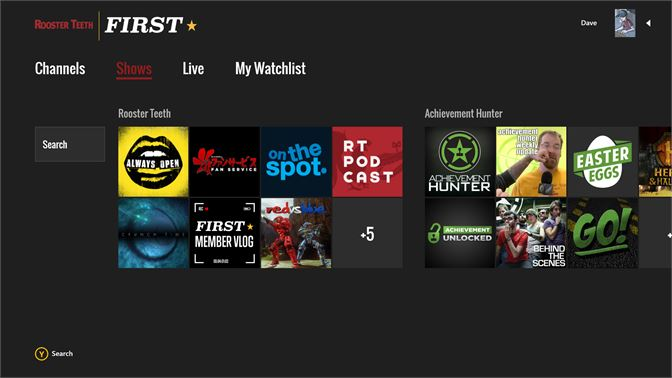 Get Rooster Teeth First Microsoft Store