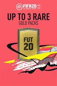 Up To 3 Rare Gold Packs